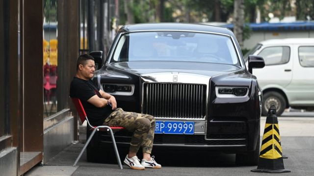 Роллс-Ройс в Пекине