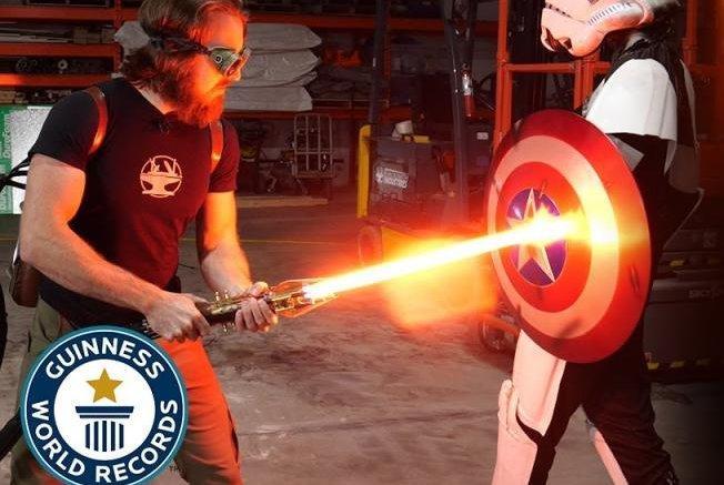 World's first 'Star Wars'-inspired lightsaber earns ...