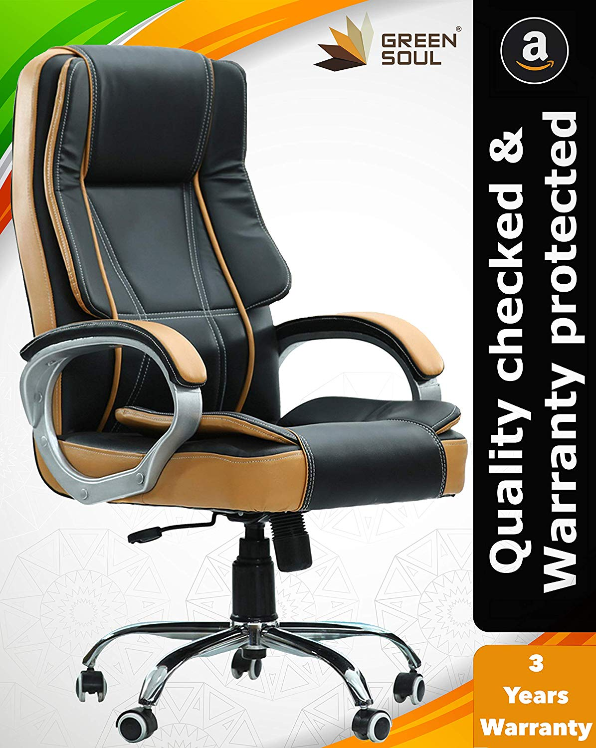 Green Soul Vienna High Back Revolving Office Chair