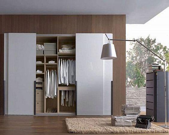 Desain Lemari Minimalis - source : id.pinterest.com