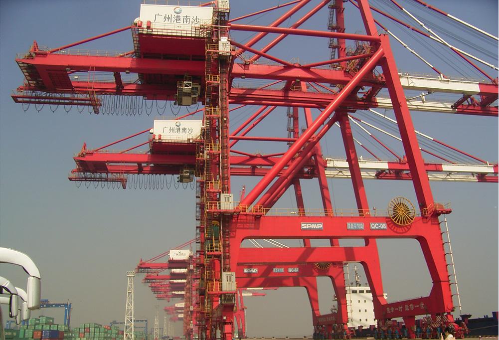 Порт Наньша, принадлежит порту Гуанчжоу
