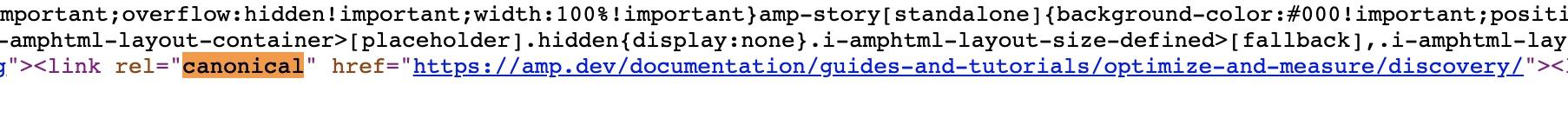 由原始碼直接確認是否設置Canonical標籤