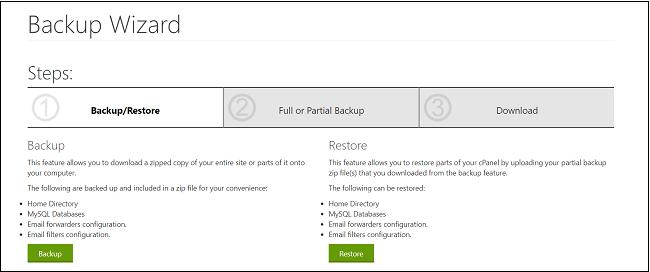 wp database backup guide