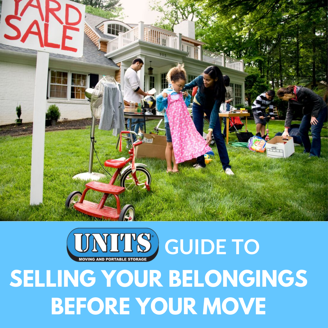 UNITS Guide to Selling Your Belongings Before Your Move