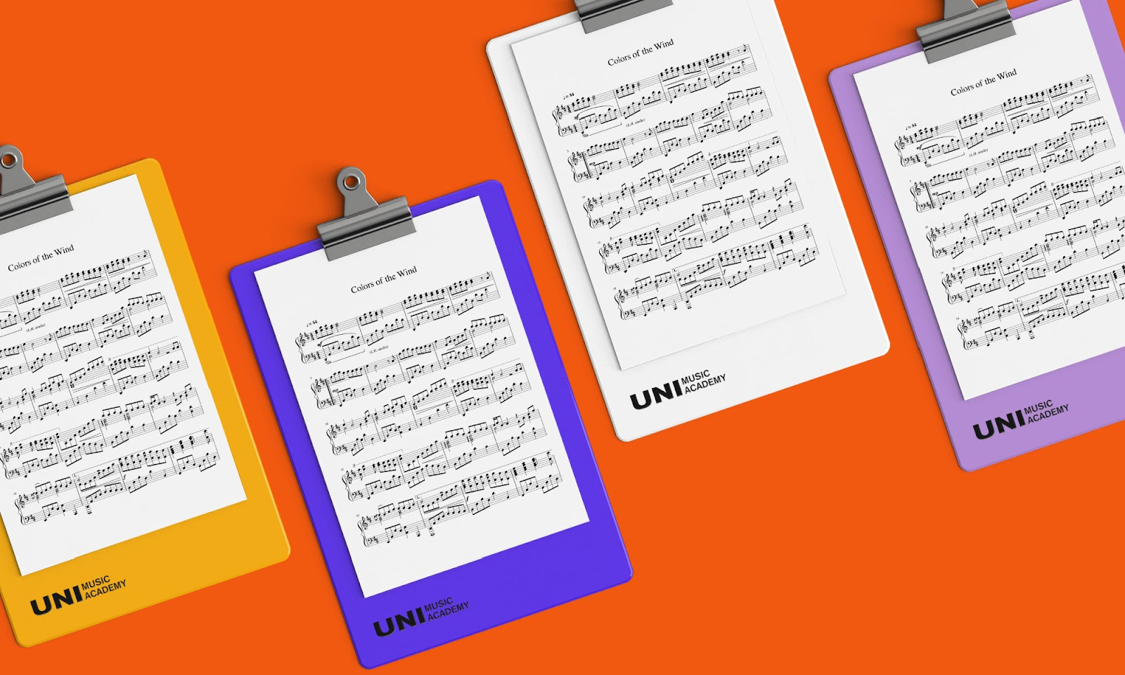 uni-music-education-stationary-design