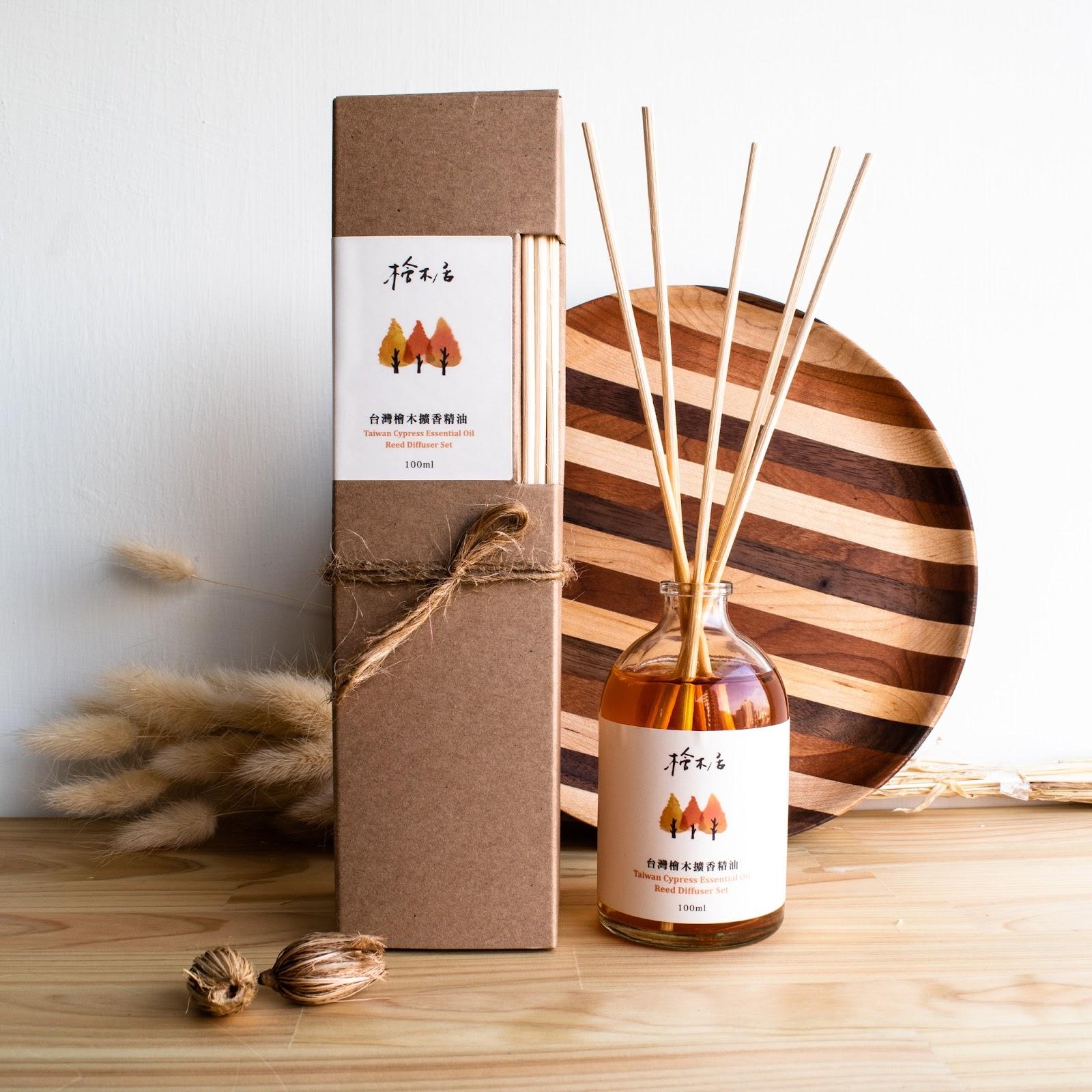 香氣溫暖舒服,台灣檜木擴香精油