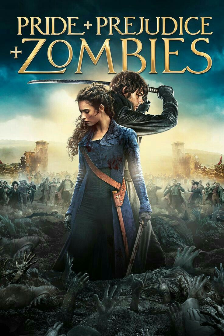 Cover of Pride and Prejudice Zombies as an example of how it's okay to genre bend when writing your story plot structure.