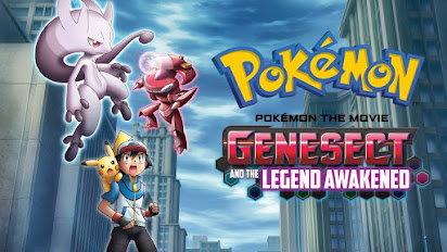Pokemon Genesect And The Legend Awakened English