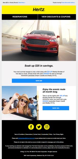 save $25 template