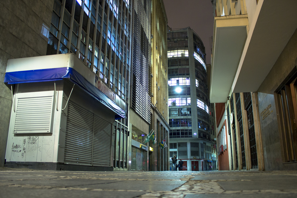 Imagem do centro de São Paulo, região que concentra o maior número de prédios ociosos, de acordo com dados da Prefeitura (Fonte da imagem: Shutterstock)
