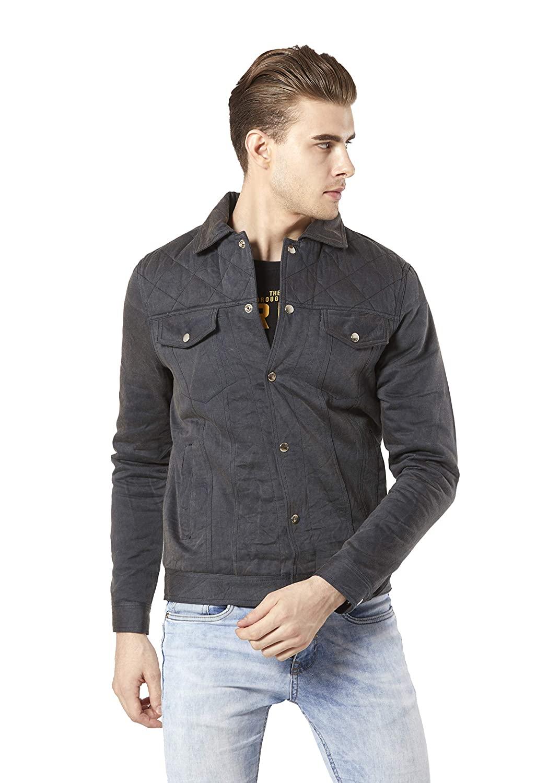 Merlot Denim Jacket For Men