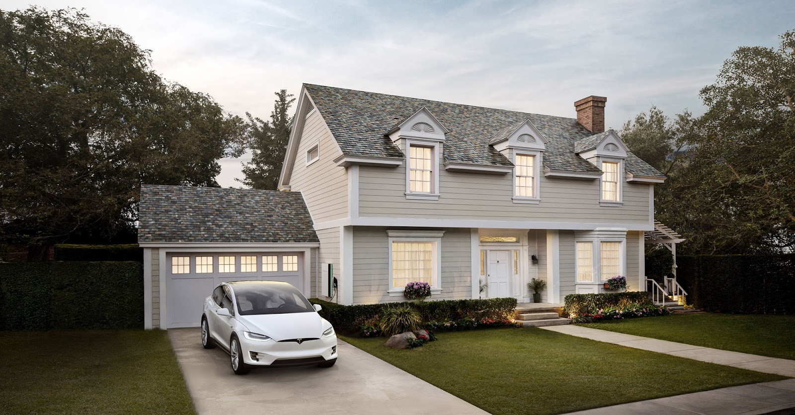 tesla solar energy roof