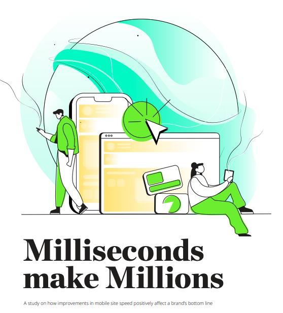 Deloitte's report - Milliseconds make millions
