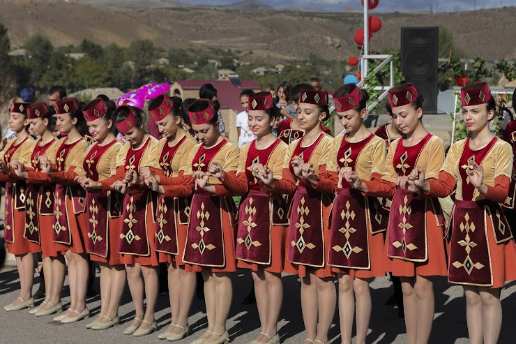 A dance group performs at the annual Areni Wine Festival in Vayots Dzor, Armenia. Photo by Sossi Madzounian, Smithsonian