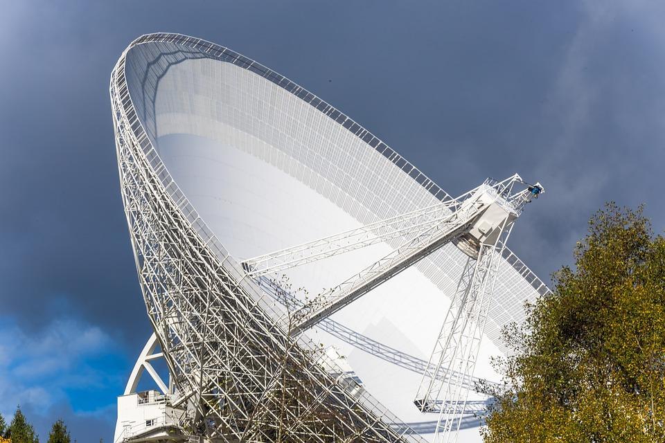 Radiotélescope, Eifel, Effelsberg, Espace, Télescope