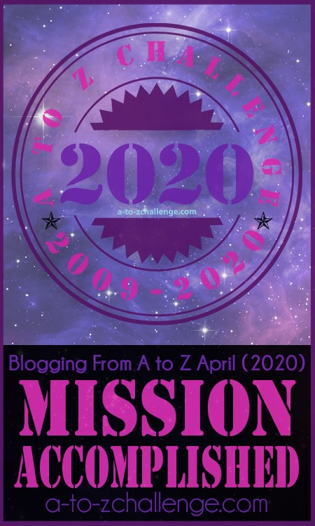 2020 A to Z Blogging Challenge