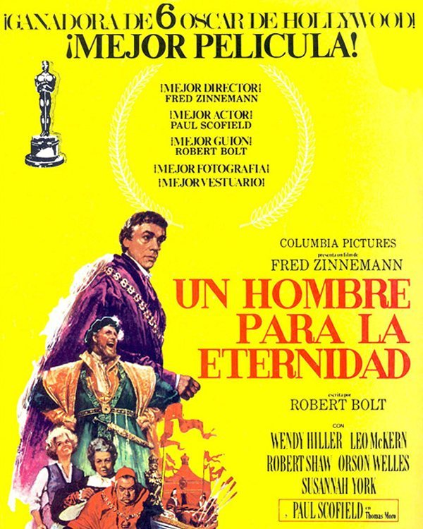 Un hombre para la eternidad (1966, Fred Zinnemann)