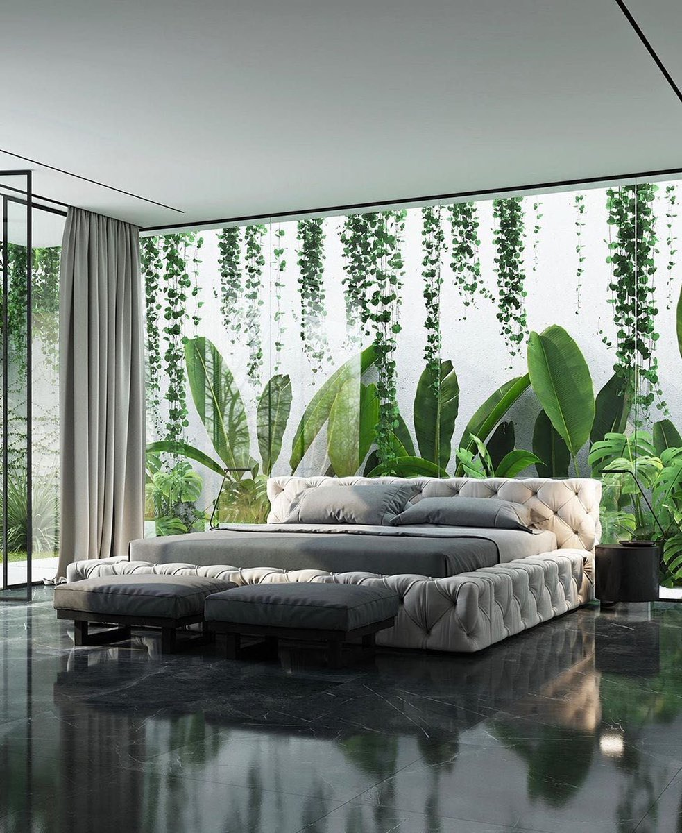 Your Green Backdrop As A Garden