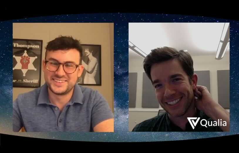 Joel Gottsegen, CTO of Qualia, joined comedian, John Mulaney, in a live virtual Q&A during ALTA Unplugged.