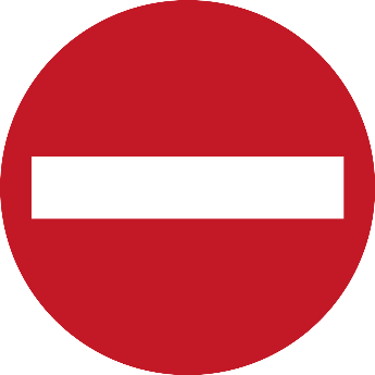 Image result for no entry