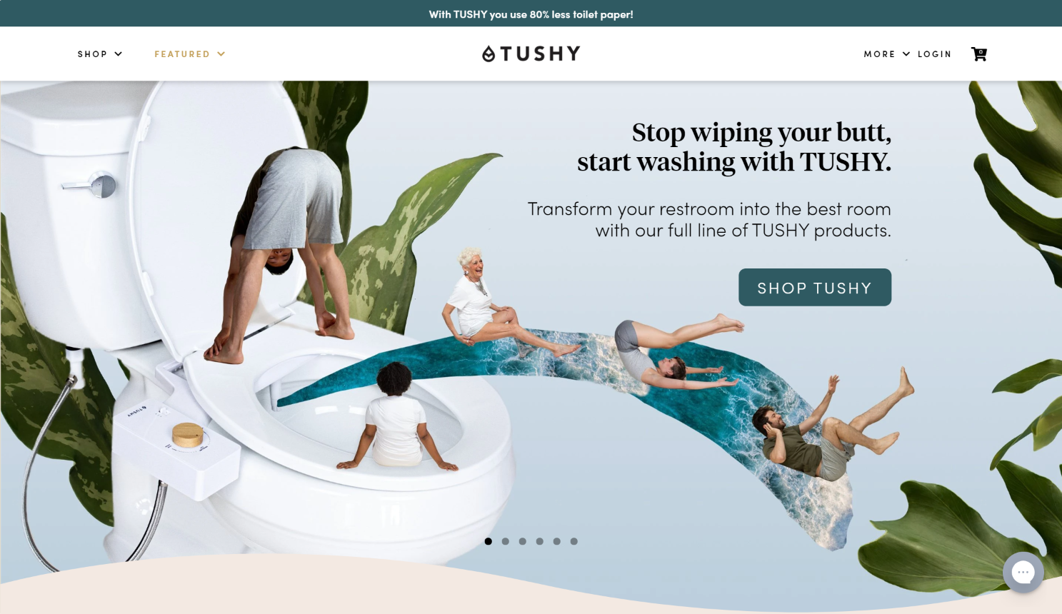 one product ecommerce examples