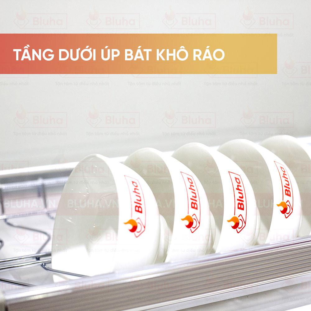 Nan chữ V ngược úp đĩa - Giá bát cố định Garis BH04 - Phụ kiện bếp chính hãng