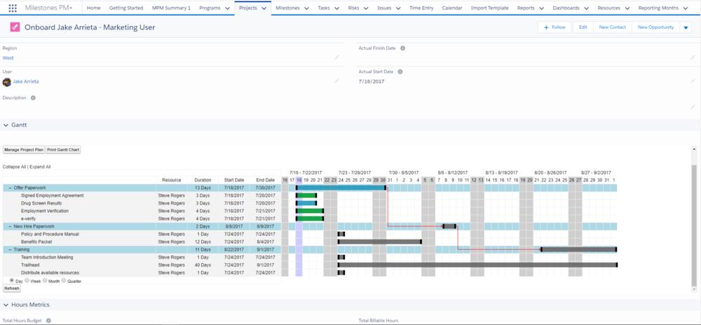 MPM+ onboarding project template