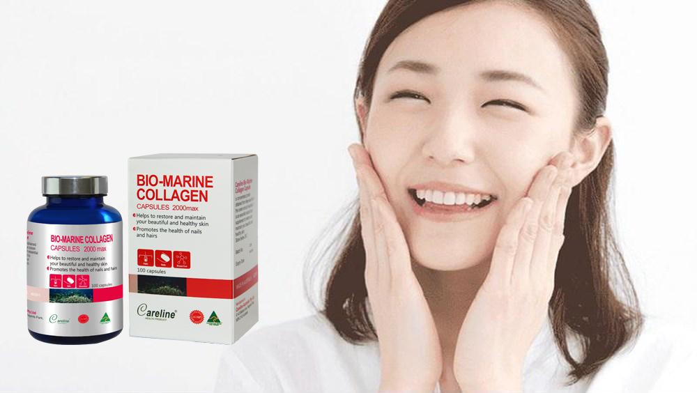 Bio-marine Collagen - trợ thủ chăm sóc da sau mụn tuổi trưởng thành
