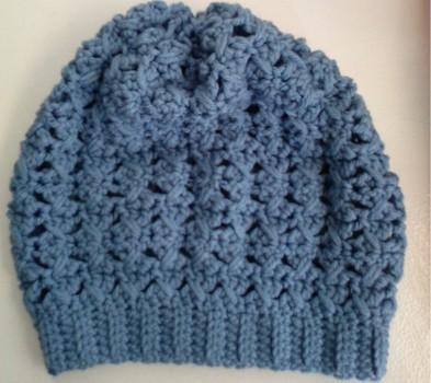 Free Crochet Pattern Xo Slouchy Beanie