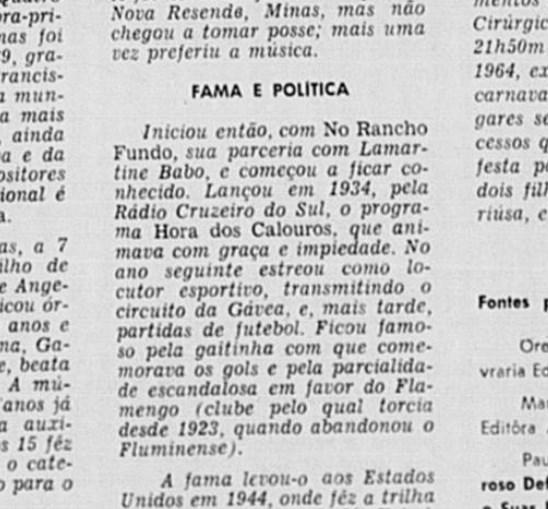 FlaPress - Jornal do Brasil mostra parcialismo de jornalista