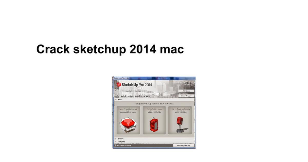 Sketchup pro 2019 mac crack