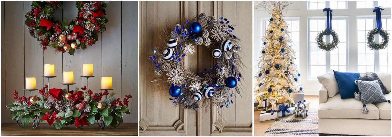 tendencias decorativas Navidad 2019/2020 coronas