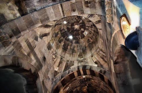 Ceiling in Sarihan Caravanserai