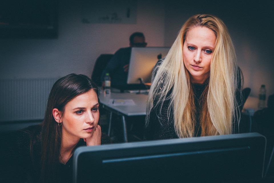 女性, チームワーク, チーム, ビジネス, 人, オフィス, 働く女性, 女性ビジネス