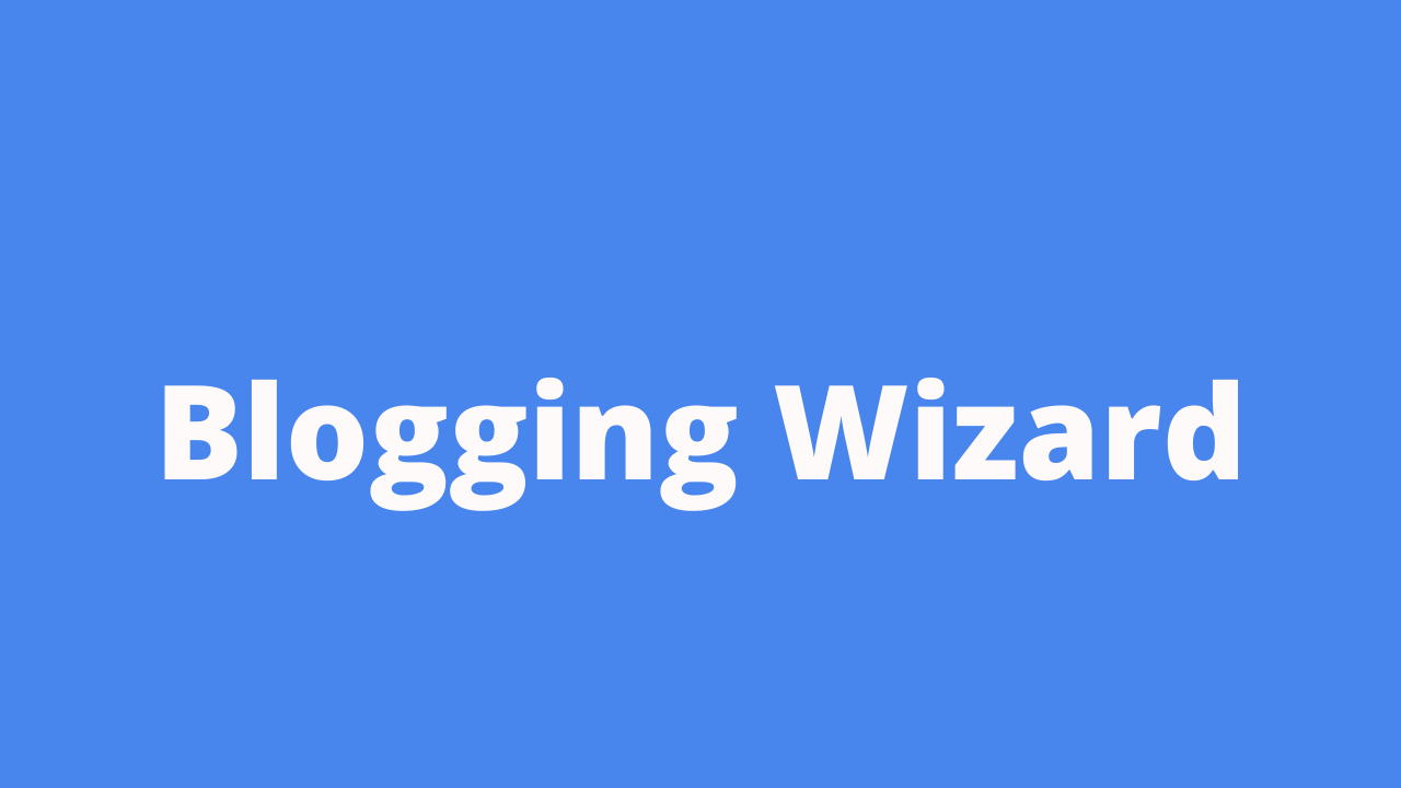 Blogging Wizard is a best blog you should follow as a marketer