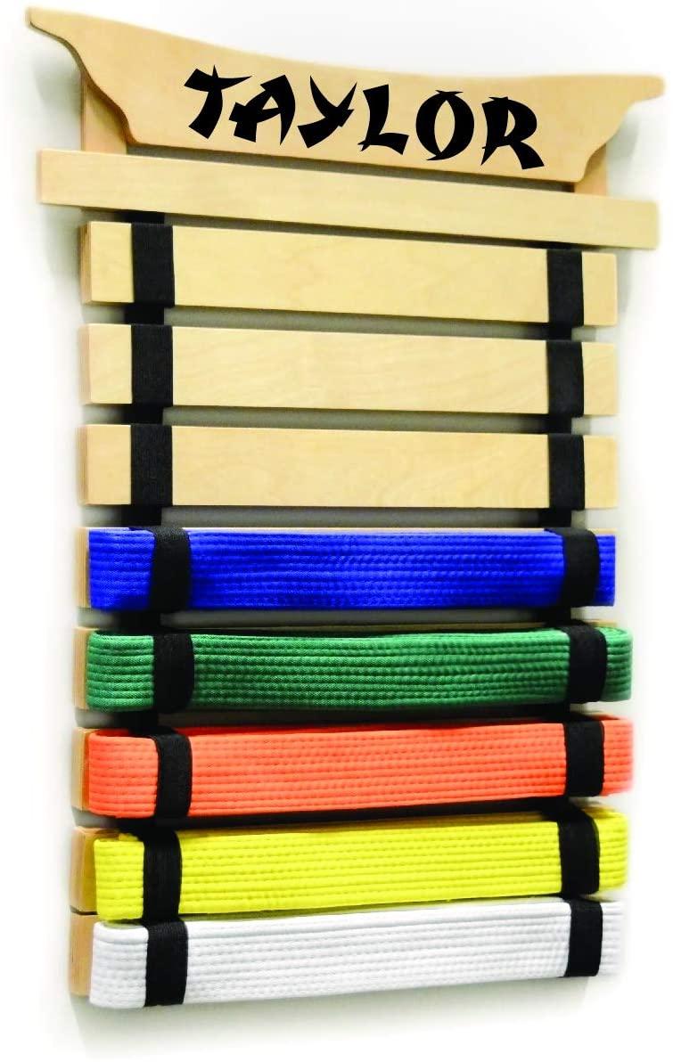 Milliard Karate Belt Display