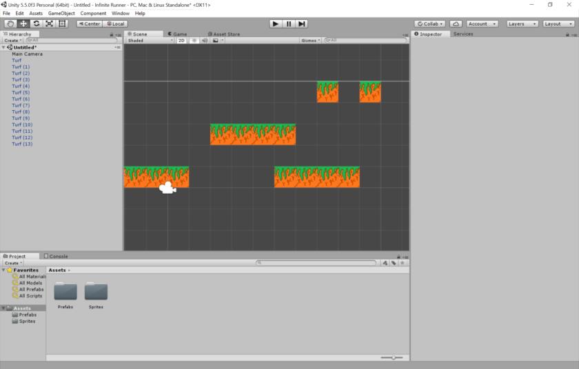 بناء اول لعبة بسيطة عبر محرك 3d Unity