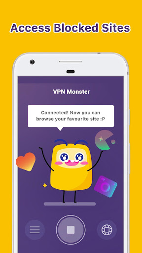 VPN Monster - free unlimited & security VPN proxy- screenshot thumbnail
