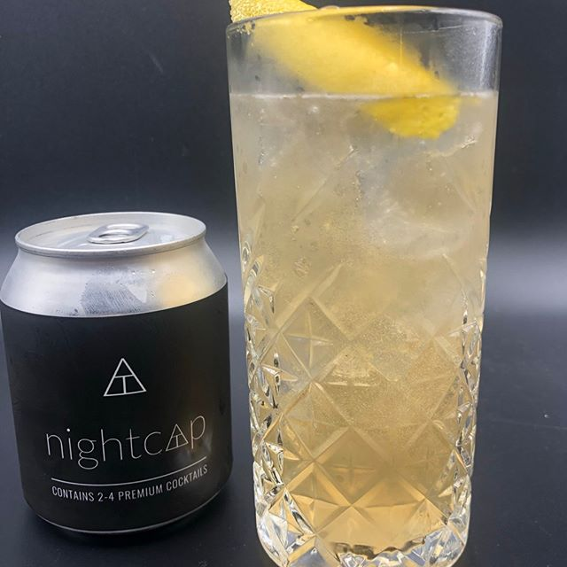 Photo by Nightcap on August 21, 2020. Image may contain: drink, text that says 'CONTAINS nightcap'.