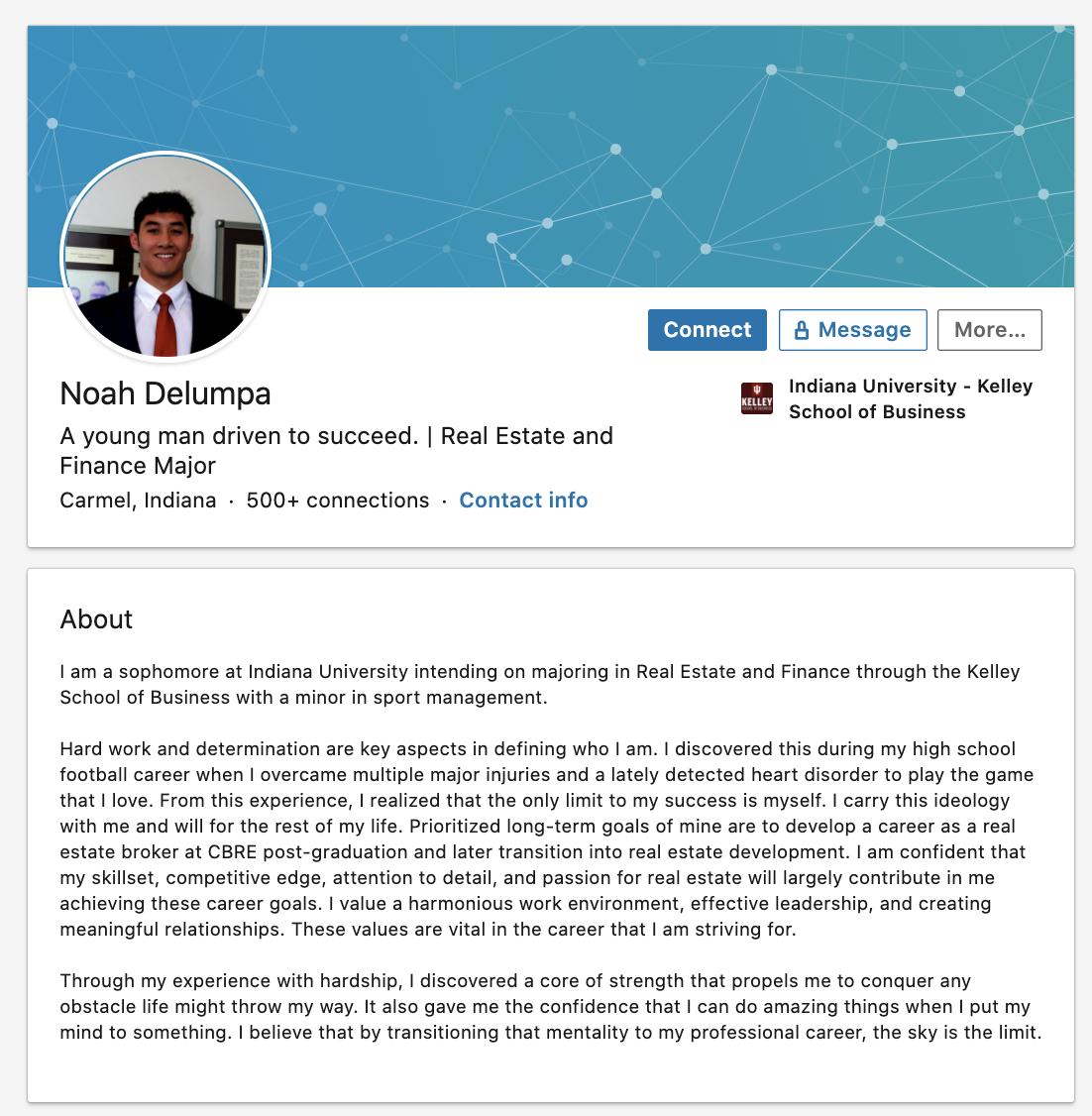 29 Stunningly Good Graduate Student LinkedIn Summary Examples