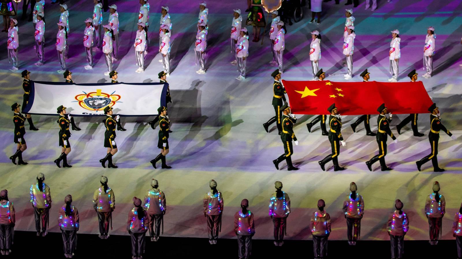 Deporte: Expulsan a China por hacer trampas de los Juegos Militares que  ellos mismos organizan