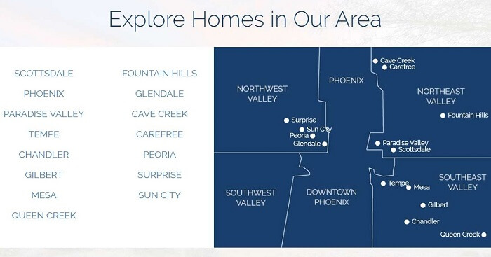 Hyper-Local Neighborhood Pages on Real Estate Agency Website
