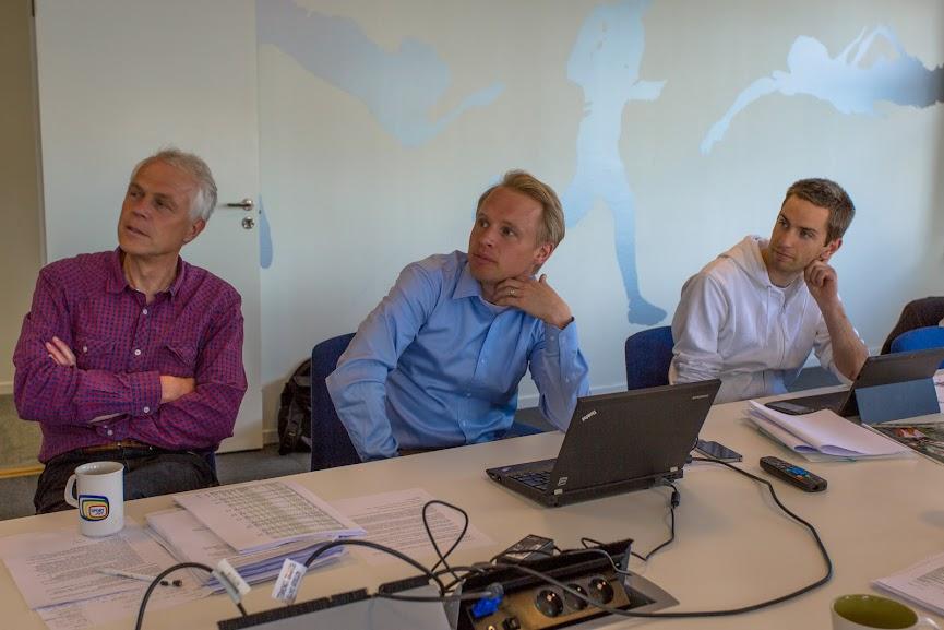 En bild från dagens möte.