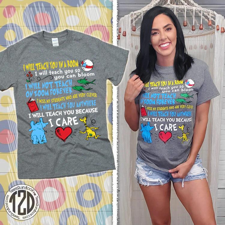 I will teach you because shirt