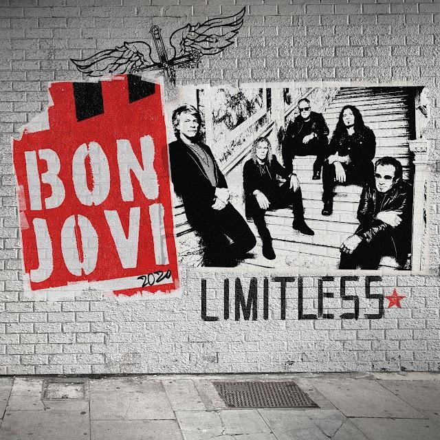 """Com nova música, Bon Jovi lança desafio especial para fãs.Vem conferir """"Limitless"""":"""