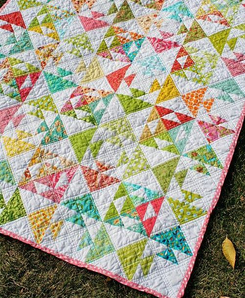 "Flying Geese ""Fish"" Quilt - Craftsy"