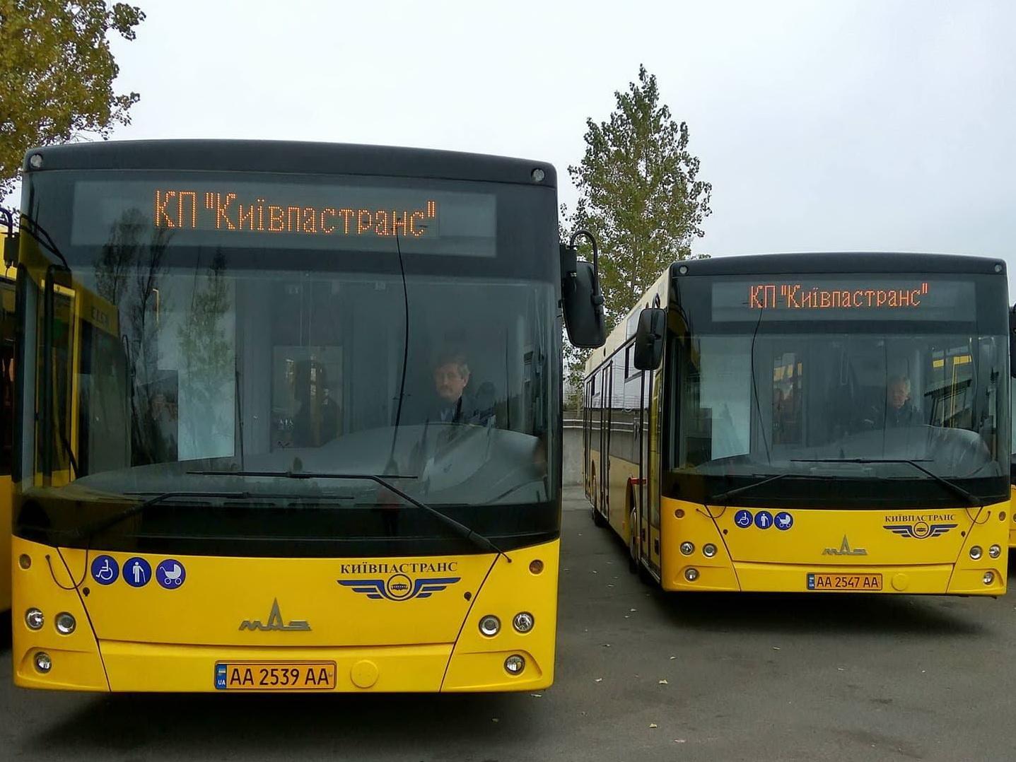Україна масово закуповує білоруські автобуси