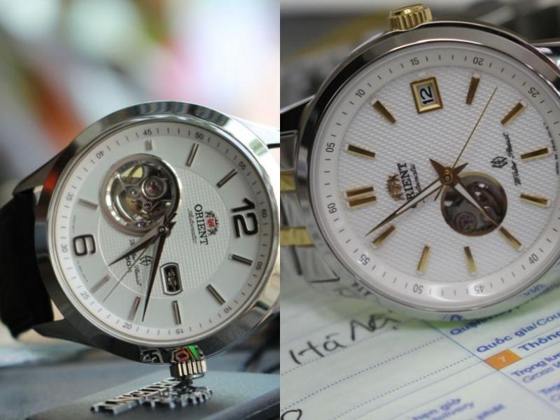 Kim đồng hồ Orient và tất cả các chữ, số, hình vẽ của sản phẩm chính hãng đều rất sắc nét, hoàn hảo trong từng chi tiết