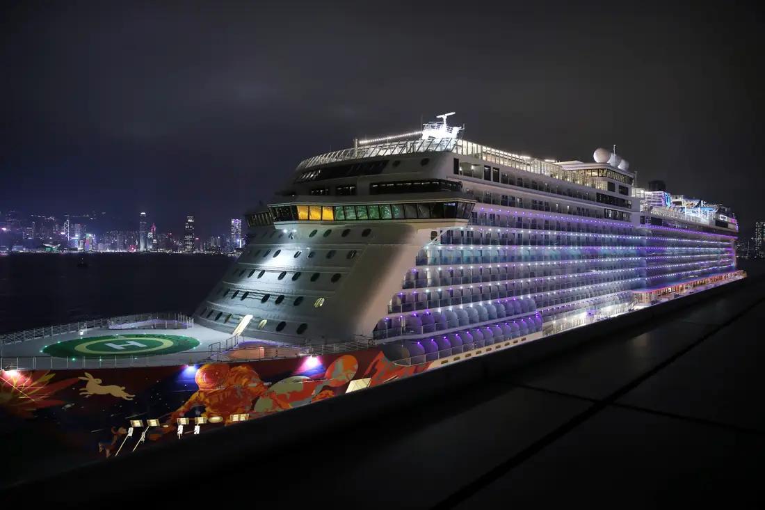 Crisis en Hong Kong: Un crucero lleva pacientes contaminados