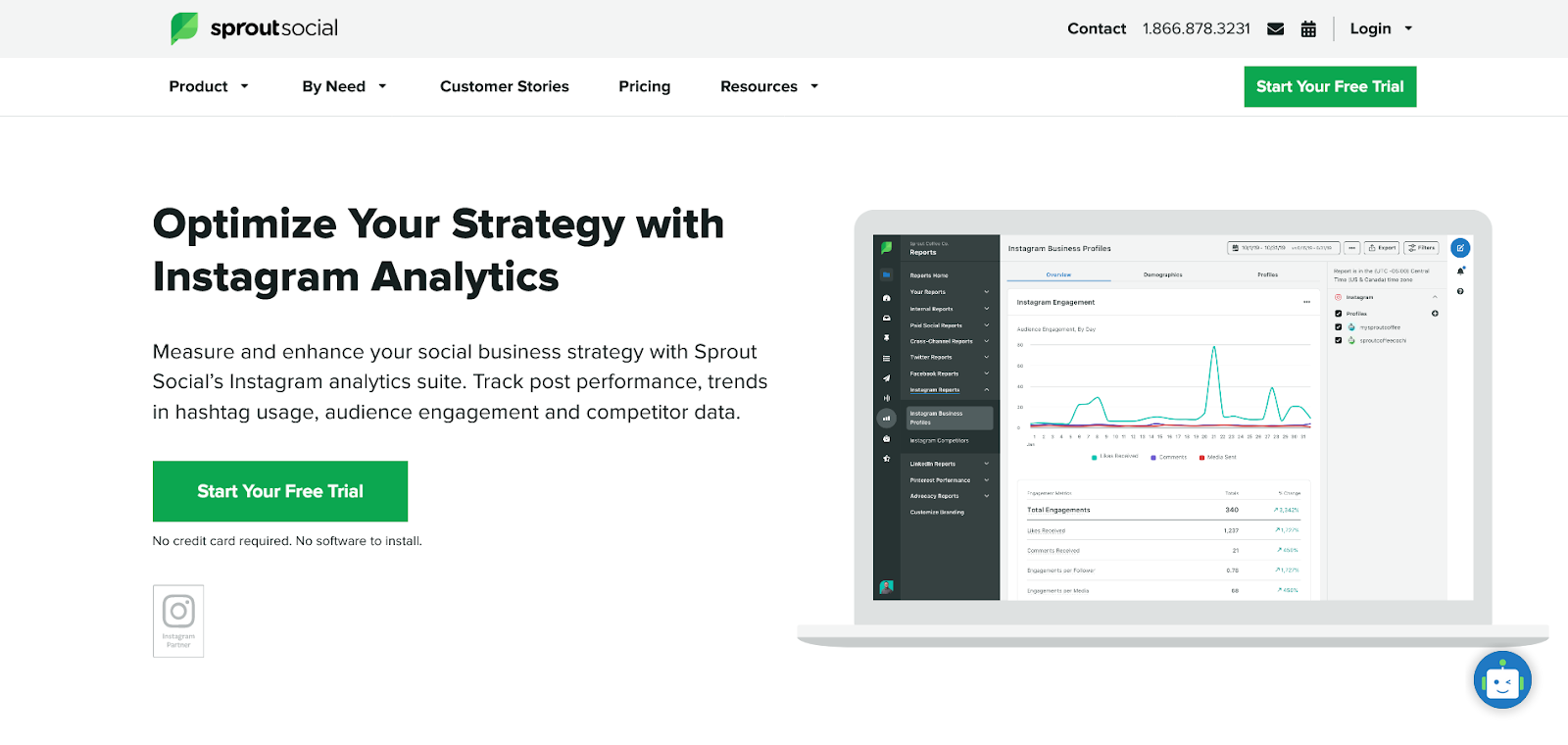 Sprout Social Photo Instagram Analytics
